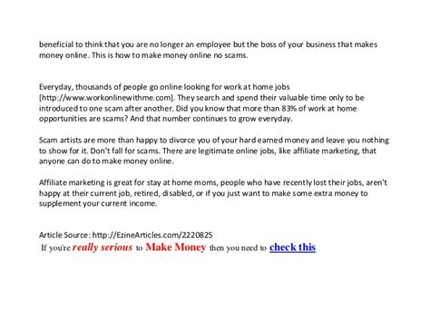 No Scam Online Money Making - make money online free no scams