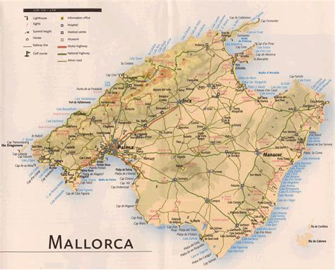 mallorca world map image gallery mallorca map