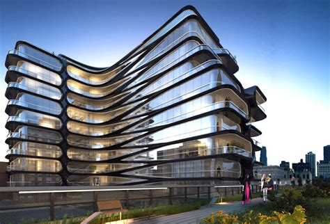 architecture company zaha hadid unveils her first nyc building and it will be
