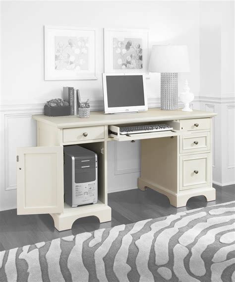 naples white desk naples pedestal desk white finish 459 26 ojcommerce