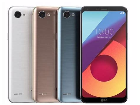 Lg Q6 Vision Astro Black lg q6 lg q6 lg q6a with fullvision display and snapdragon 435 soc launched digitalcutlet