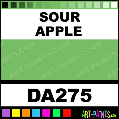 sour apple decoart acrylic paints da275 sour apple paint sour apple color americana