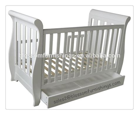 White Sleigh Crib With Drawer White Sleigh Convertible Crib Twinkle Twinkle