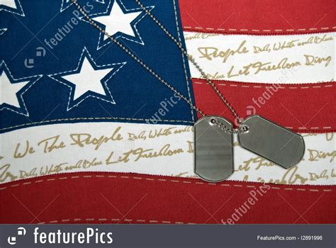 Patriotic Dog Tags Photo Free Animated Clip Art American Flag