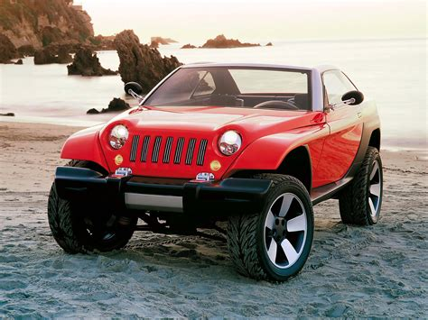 jeep concept cars 1998 jeep jeepster concept supercars net