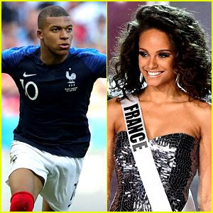 kylian mbappé et alicia aylies kylian mbappe s rumored girlfriend alicia aylies supports