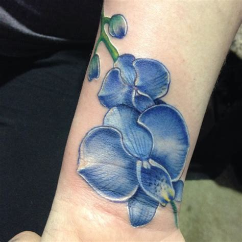 16 orchid wrist tattoos ideas