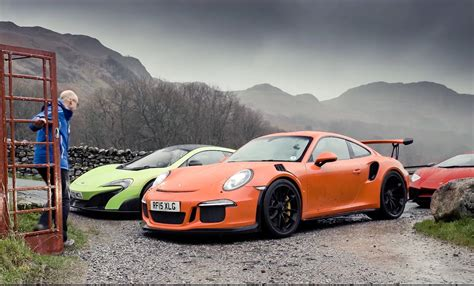 Top Gear Lamborghini Top Gear With Lamborghini Aventador Sv Vs Porsche 911 Gt3