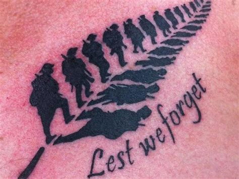 unbelievable online response to anzac tattoo national