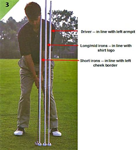 golf swing ball position uh oh examiner com