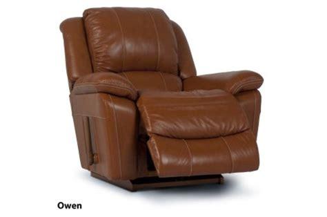 lazy boy leather rocker recliner new home furnishers 187 owen rocker recliner by la z boy