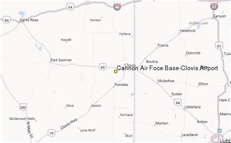 cannon air foce base clovis airport weather station record