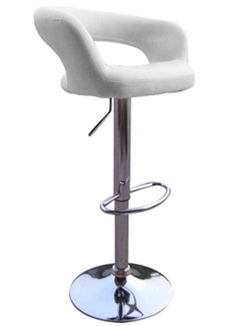 fancy leather bar stools review of cool white padded faux leather designer bar