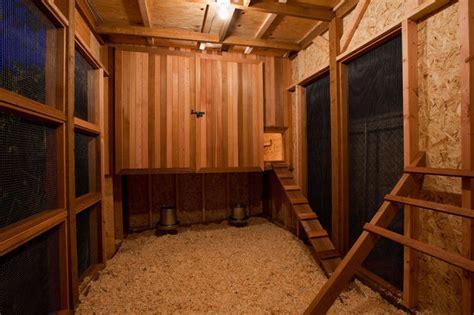 interior layout of a chicken coop cedar chicken coop condo all