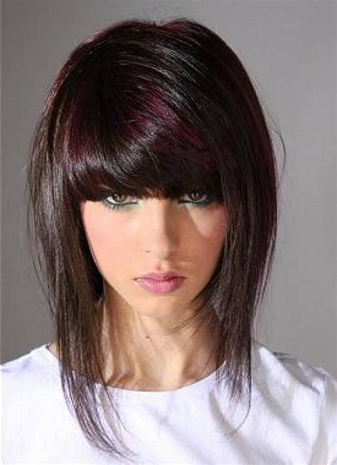 edgy bobs with bangs hair styles for long edgy haircuts hairstyles with bangs