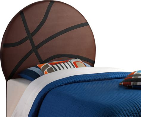 Basketball Headboard by Powell Upholstered Basketball Sized Headboard X 930