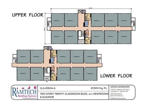classroom floor plan builder ramtech relocatable and permanent modular building floor plans