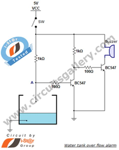 use of transistor bc548 in water level indicator simple electronic projects 6 student zone
