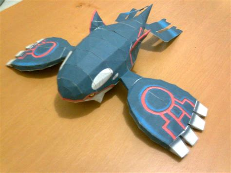Kyogre Papercraft - kyogre papercraft by shirokoori on deviantart