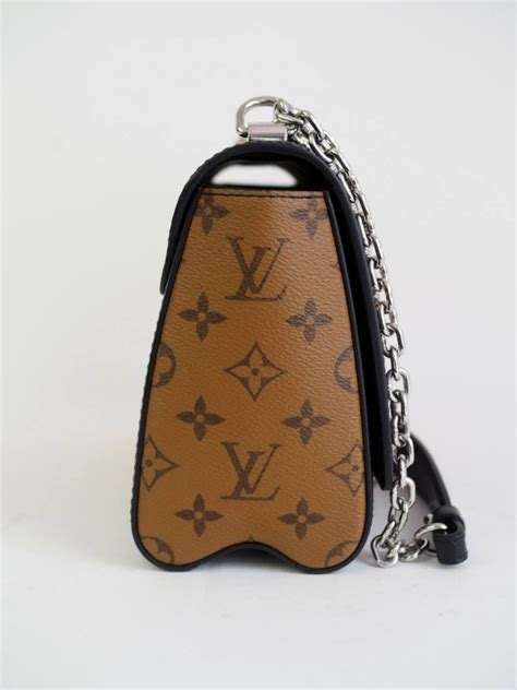 bag louis vuitton mm twist studded reverse canvas