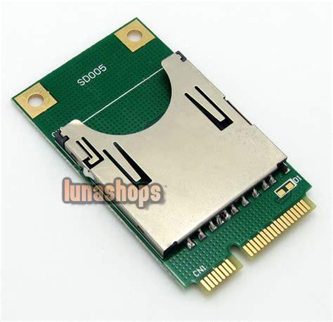 Memory Card Laptop C0 Sd Sdhc Tf Mmc Memory Card To Laptop Mini Pci E Reader