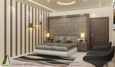 interior design bedroom bahawalpur project floor bedroom designed by aenzay aenzay interiors architecture