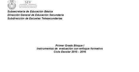 rbricas instrumentos de evaluacin 2015 2016 supervisi 243 n escolar papantla instrumentos de evaluaci 211 n