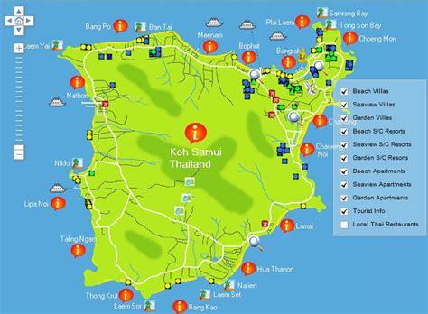printable map koh samui map of koh samui browse info on map of koh samui