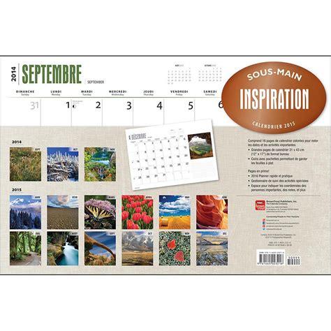 Inspirational Desk Calendar by Inspiration 2015 Desk Pad 9781465023216