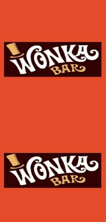 wonka template free printable wonka bar wrappers your golden ticket