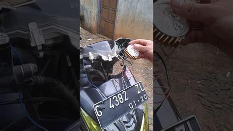 Lu Tembak Motor Matic cara pasang lu tembak motor matic