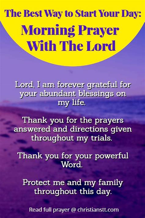 Starting Your Day With The Right Shoes by Prayer For Blessings 28 God Thank You For This Day