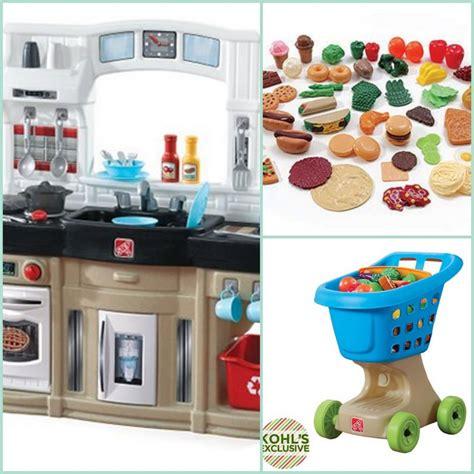 kohl s toy deals kids kitchen set scenario fisher price
