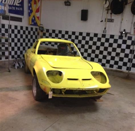 vintage opel car opel gt vintage race car autocross restoration collector