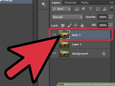 how to add background in photoshop 3 ways to remove text from a photo in photoshop wikihow