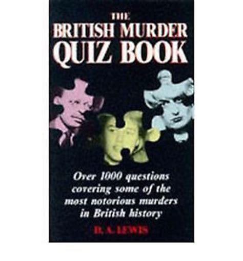 libro the murder at the libro quiz the british murder ebay