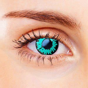 color vision green werewolf contact lenses