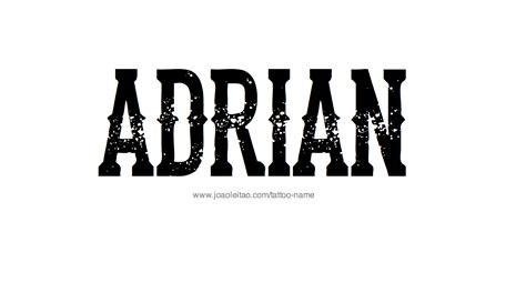 adrian tattoo design name adrian 20 29 png