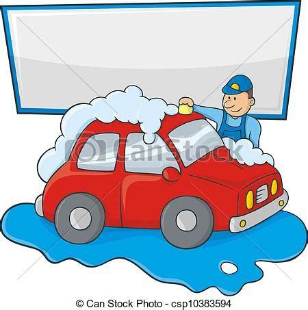laver ses sieges de voiture vecteurs eps de lavage voitures homme dessin anim 233 de