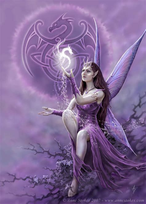 purple fantasy fairy images