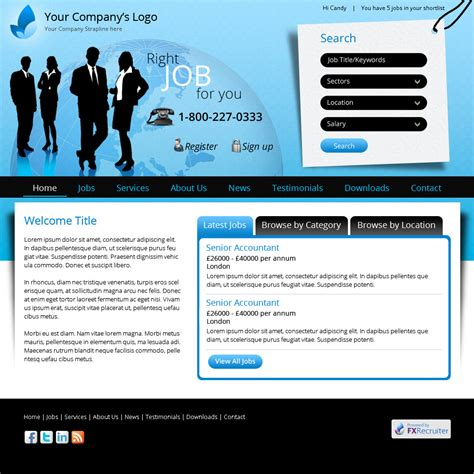 Template Edition Recruitment Website Design Uk Job Boards Career Site And Website Career Page Template