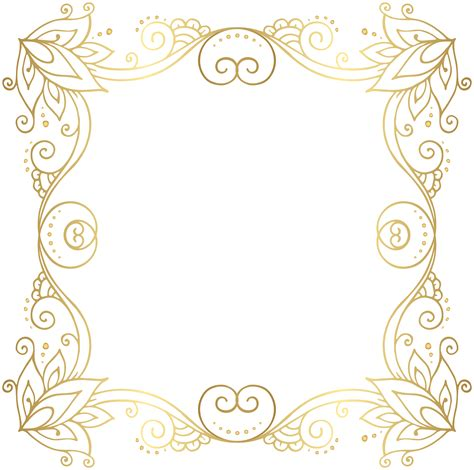 gold border designs clip art pictures to pin on pinterest