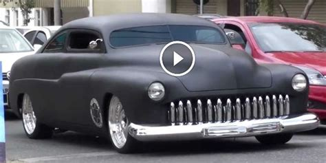Brazil Fastis 2018 Bad 1951 Ford Mercury With Air Suspension