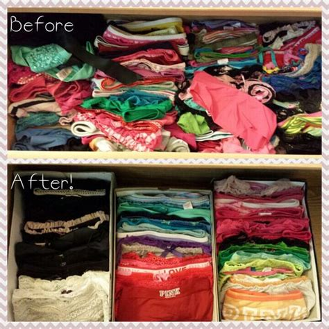 How To Organize Clothes Drawers by Shoebox Organization For Drawer Organizing
