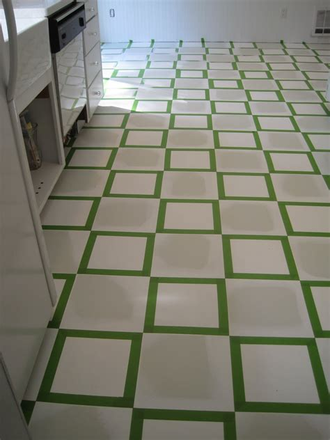 how to paint floors beautiful nest painted vinyl floor