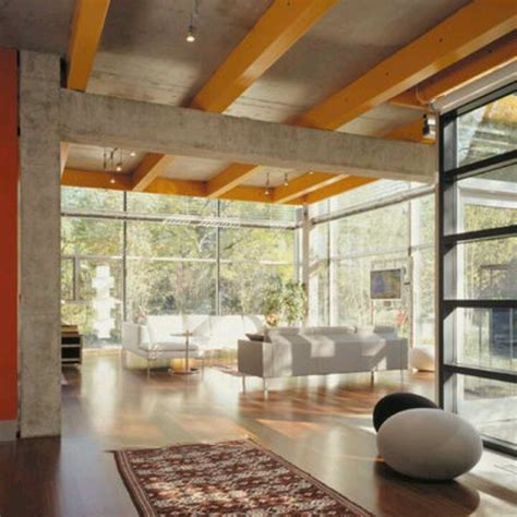 floor to ceiling glass walls favored settings