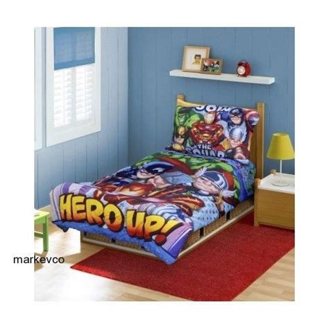 superhero toddler bed marvel super hero squad bedding set comforter sheets