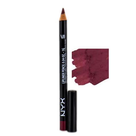 La Lipliner Pencil Smooth Plum nyx slim lip liner pencil plum slp 812 marsala