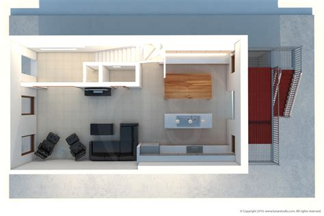 floorplan 3d architectural renderings of interiors