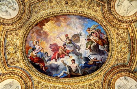 Ceiling Paintings by Louvre Ceiling Painting Shaker Media Flickr
